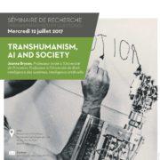 Transhumanism, AI and Society.