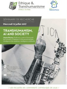 Transhumanism, AI and Society.
